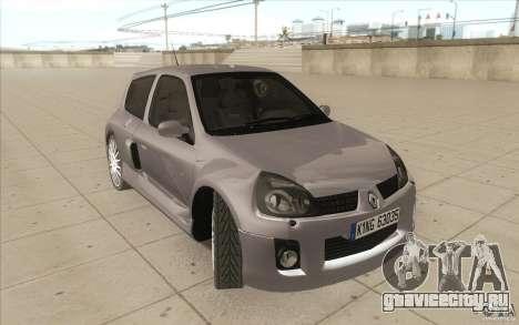 Renault Clio V6 для GTA San Andreas вид сбоку