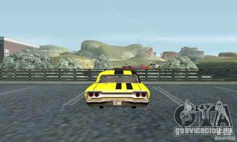 Винил для Savanna для GTA San Andreas вид справа