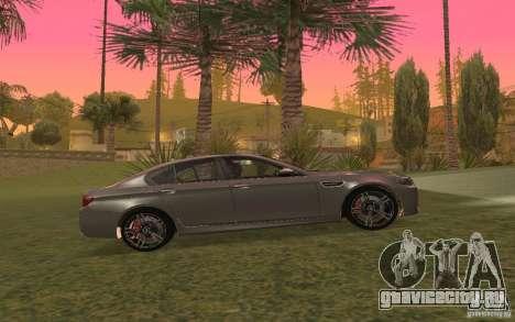 BMW M5 для GTA San Andreas вид сбоку