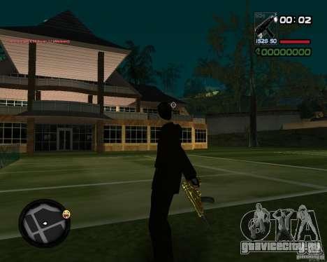 Tec 9 GOLD для GTA San Andreas второй скриншот