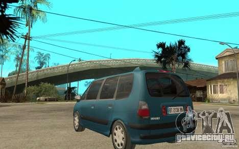 Renault Espace III 1999 для GTA San Andreas вид сзади слева