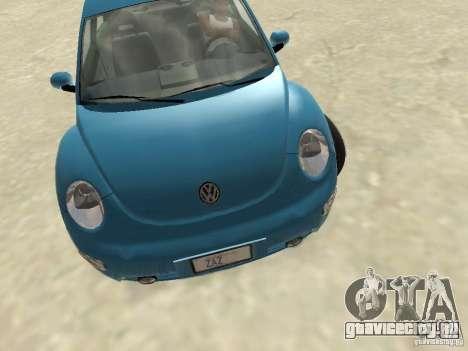 VW Beetle 2004 для GTA San Andreas вид слева