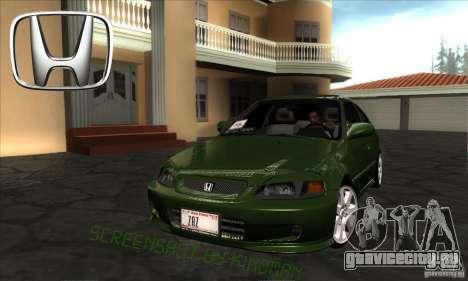 Honda Civic 1995 для GTA San Andreas