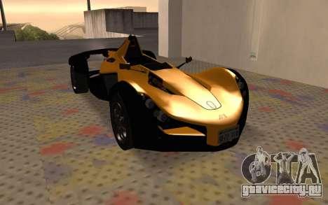 BAC Mono для GTA San Andreas вид слева
