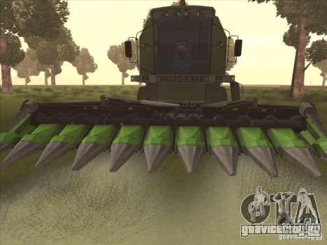 Deutz Harvester для GTA San Andreas вид слева