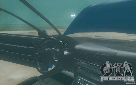 Suzuki Swift GLX 1.3 для GTA San Andreas вид сзади