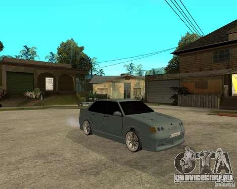 ВАЗ 2115 TTC Tuning для GTA San Andreas вид справа