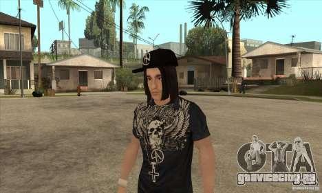 Criss Angel Skin для GTA San Andreas второй скриншот