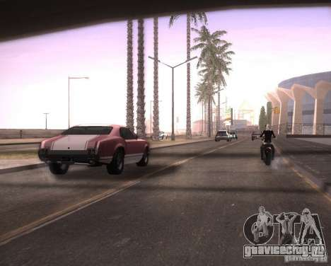 ENBSeries для Ultra Pack Vegetetions для GTA San Andreas