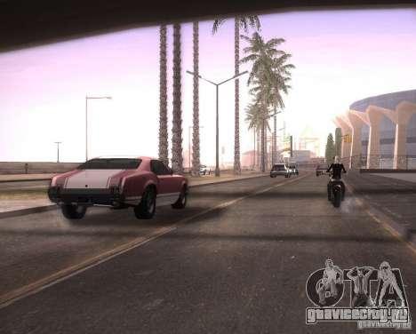 ENBSeries для Ultra Pack Vegetetions для GTA San Andreas пятый скриншот