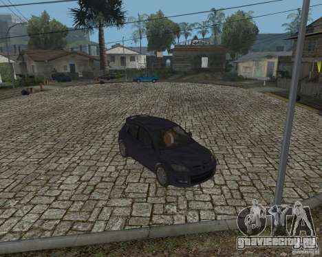 Mazda Speed 3 для GTA San Andreas вид сзади