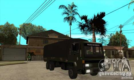 DFT-30 Brazilian Army для GTA San Andreas вид сзади
