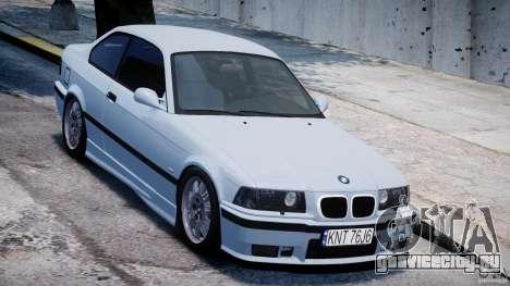 BMW M3 e36 для GTA 4 вид изнутри