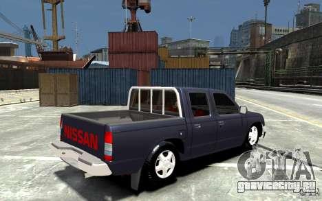 Nissan Pickup V 2005 для GTA 4 вид справа