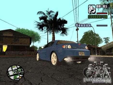 Mazda RX 8 для GTA San Andreas вид слева