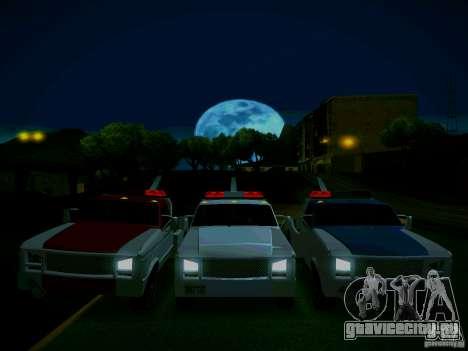 Towtruck tuned для GTA San Andreas вид сзади