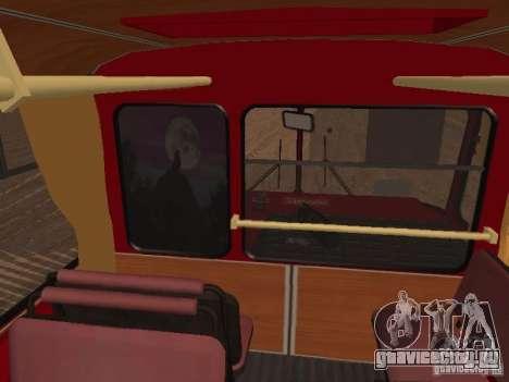 ЛиАЗ 677 для GTA San Andreas салон