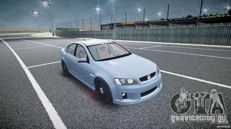 Holden Commodore (FBINOoSE) для GTA 4 вид сзади