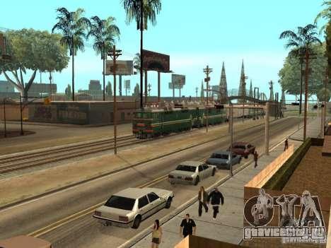ВЛ80С-2532 для GTA San Andreas вид сзади