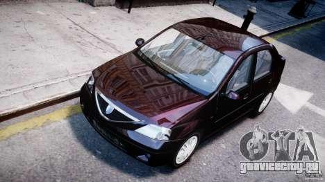 Dacia Logan 2007 Prestige 1.6 для GTA 4
