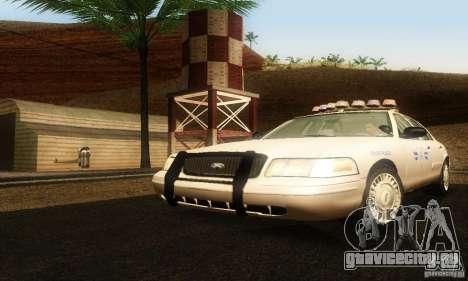 Ford Crown Victoria Rhode Island Police для GTA San Andreas