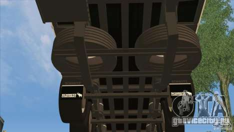 SchmitZ Cargobull для GTA San Andreas вид снизу