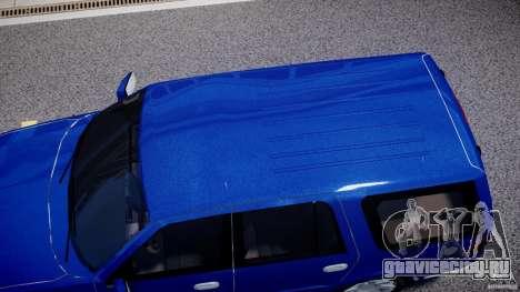 Lincoln Navigator 2004 для GTA 4 вид сбоку