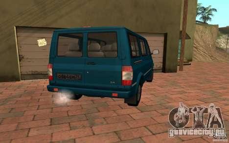 УАЗ 3165 Симба для GTA San Andreas вид слева