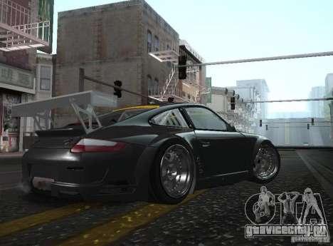 Porsche 911 GT3 RSR RWB для GTA San Andreas вид слева