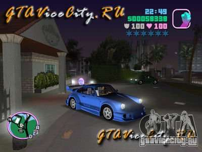Porsche 911 VEILSIDE для GTA Vice City
