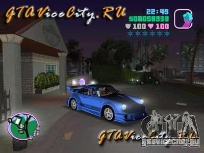 Porsche 911 VEILSIDE для GTA Vice City