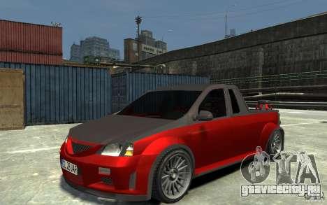 Dacia Pick-up Tuning для GTA 4