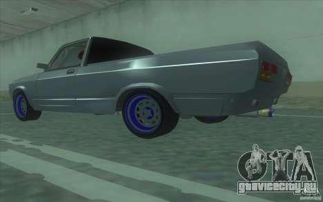 Lada 2107 Street Racing для GTA San Andreas вид слева