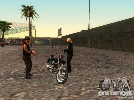 Реалистичная школа байкеров V1.0 для GTA San Andreas восьмой скриншот