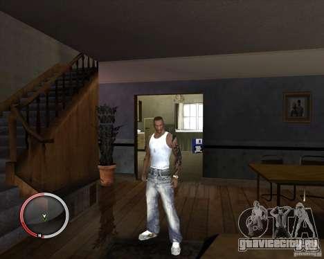 Новая майка для CJ для GTA San Andreas третий скриншот