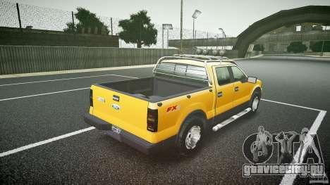 Ford F150 FX4 OffRoad v1.0 для GTA 4 вид сбоку