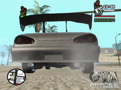 Elegy First Update By reNz для GTA San Andreas вид сзади слева