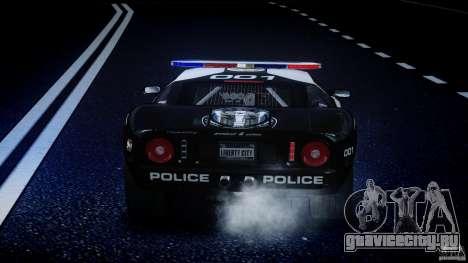 Ford GT1000 Hennessey Police 2006 [EPM][ELS] для GTA 4 колёса