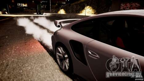 Porsche 911 GT2 RS 2012 для GTA 4 вид сзади слева