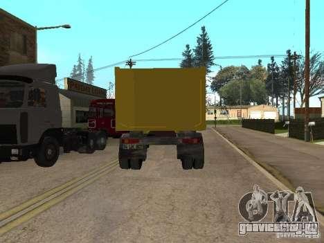 BMC для GTA San Andreas вид сзади слева