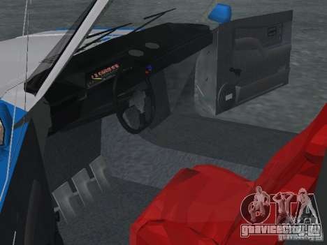 ВАЗ 2101 Моряк для GTA San Andreas вид сзади