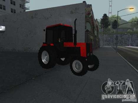 Трактор МТЗ 1025 для GTA San Andreas вид справа