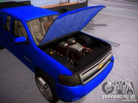 Chevrolet Silverado для GTA San Andreas вид сзади слева