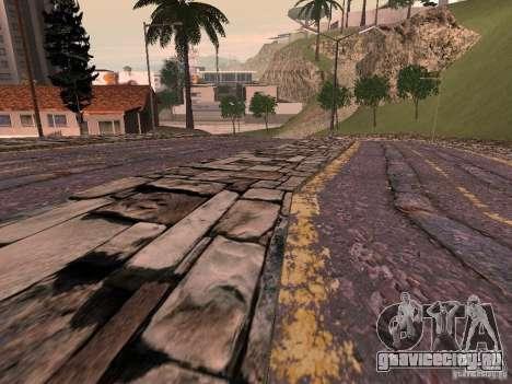 Новые дороги в Вайнвуде для GTA San Andreas четвёртый скриншот