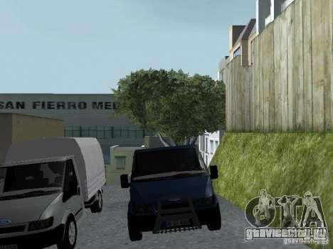 Ford Transit 2005 для GTA San Andreas вид изнутри