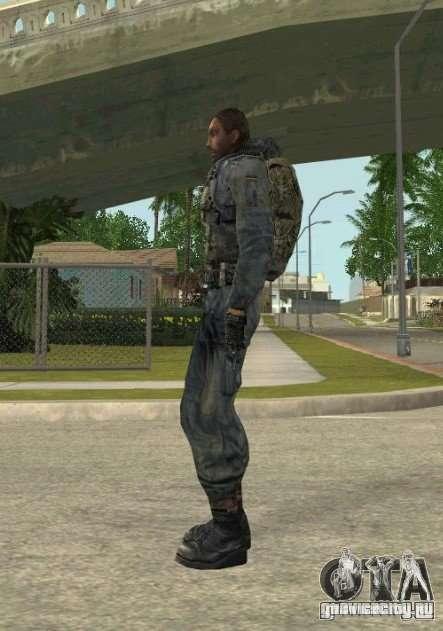 Группировка Наёмники из сталкера для GTA San Andreas второй скриншот