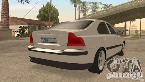 Volvo S60R для GTA San Andreas вид сбоку