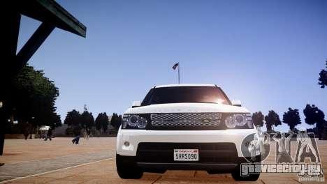 Range Rover Sport Supercharged v1.0 2010 для GTA 4 вид сбоку