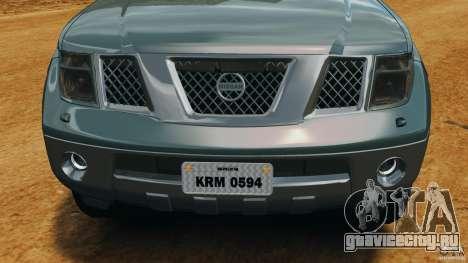 Nissan Frontier DUB v2.0 для GTA 4 вид сверху