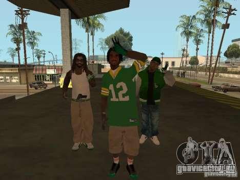 Новые скины Grove для GTA San Andreas второй скриншот